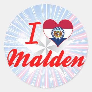 I Love Malden Missouri Sticker