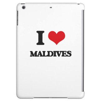 I Love Maldives Cover For iPad Air
