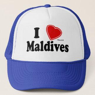 I Love Maldives Trucker Hat