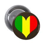 I Love Mali 2 Inch Round Button