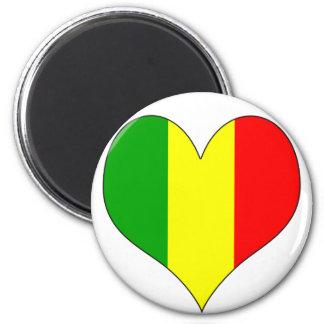 I Love Mali Fridge Magnet