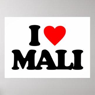 I LOVE MALI POSTERS