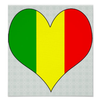 I Love Mali Poster