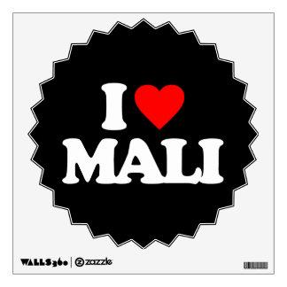 I LOVE MALI WALL SKIN