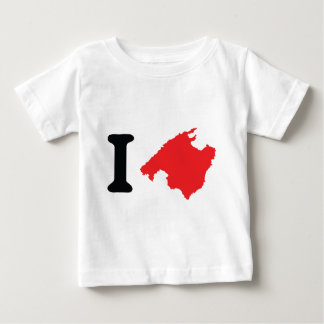 I love mallorca contour symbol shirts