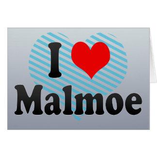 I Love Malmoe, Sweden Card