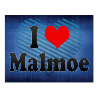 I Love Malmoe, Sweden Postcard