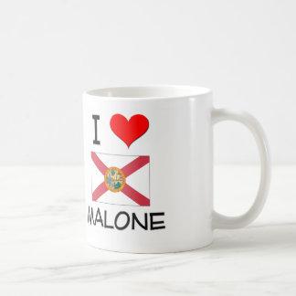 I Love MALONE Florida Mugs