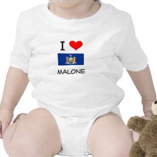 I Love Malone New York Baby Bodysuit