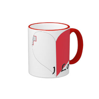 I love Malta Ringer Coffee Mug