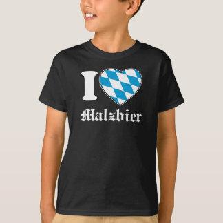 I Love Malzbier - Oktoberfest-Shirt for Boys T-Shirt
