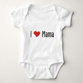 I Love Mama Shirt