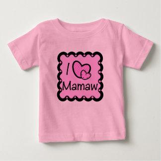 I Love Mamaw Cute T-Shirt