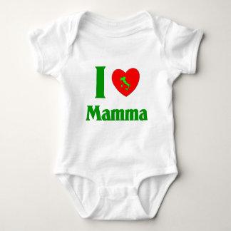 I  Love Mamma Baby Bodysuit