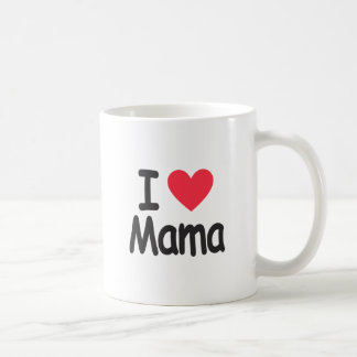 I love mamma, mom, mother coffee mug