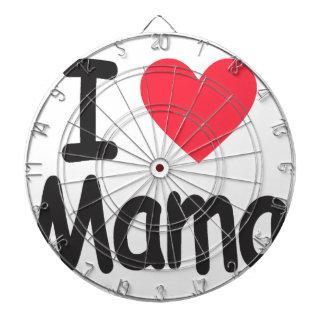 I love mamma, mom, mother dart board