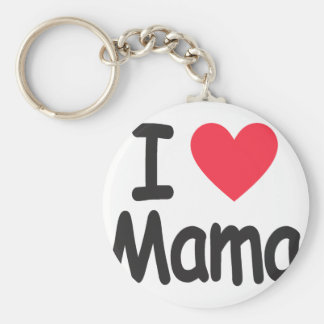 I love mamma, mom, mother keychain