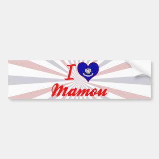 I Love Mamou, Louisiana Bumper Sticker