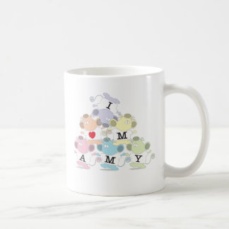 I love Mamy Classic White Coffee Mug