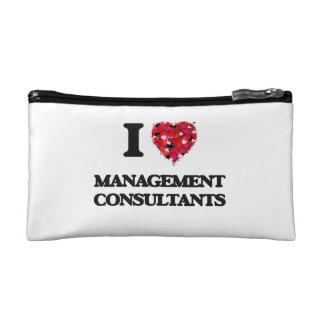 I love Management Consultants Makeup Bag