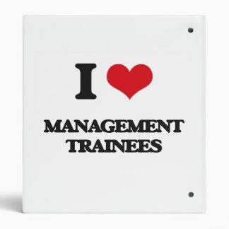 I love Management Trainees 3 Ring Binder