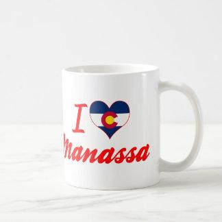 I Love Manassa, Colorado Coffee Mug