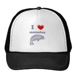 I love manatee mesh hat