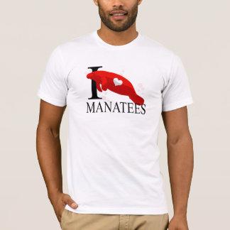 I Love Manatees T-Shirts