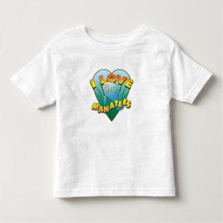 I Love Manatees Toddler T-shirt