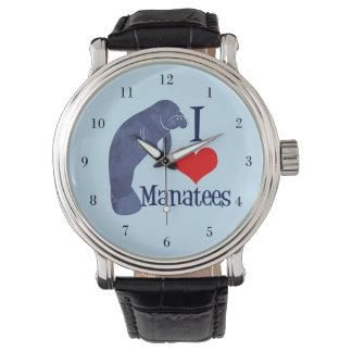 I Love Manatees Watch