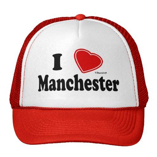 I Love Manchester Mesh Hats