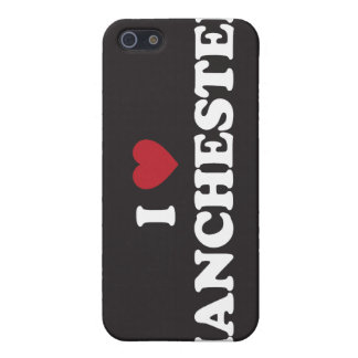 I Love Manchester New Hampshire Case For iPhone SE/5/5s
