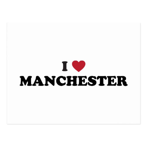I Love Manchester New Hampshire Post Cards