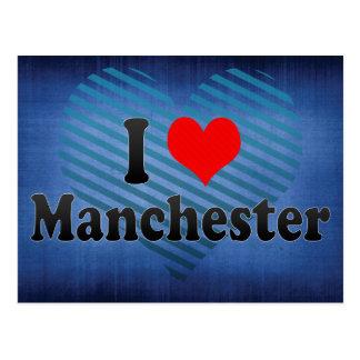 I Love Manchester, United Kingdom Post Cards