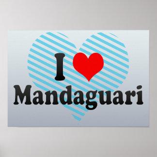 I Love Mandaguari, Brazil Poster