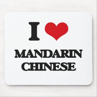 I Love Mandarin Chinese Mouse Pad