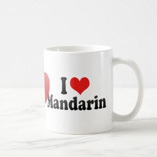 I Love Mandarin Coffee Mug