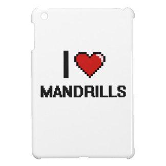 I love Mandrills Digital Design Cover For The iPad Mini