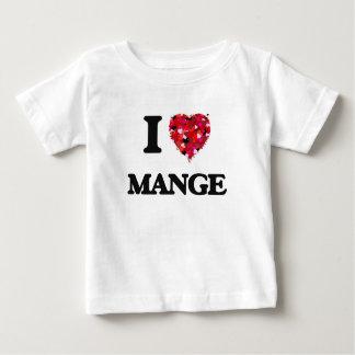 I Love Mange T-shirts