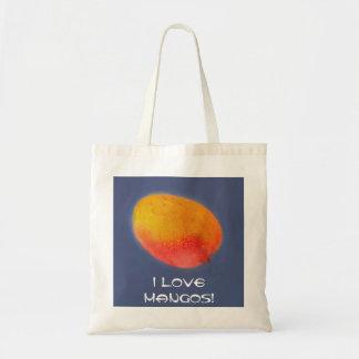I Love Mangoes Budget Tote Bag