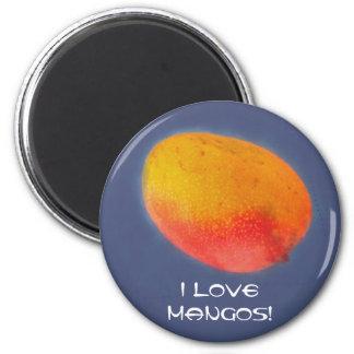 I Love Mangoes Magnet