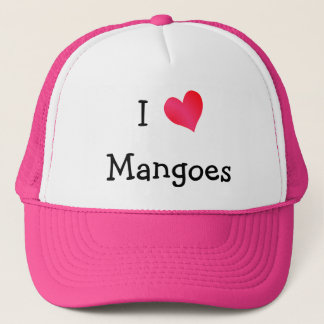 I Love Mangoes Trucker Hat