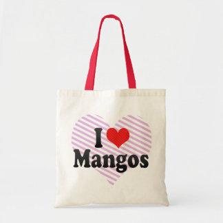 I Love Mangos Budget Tote Bag