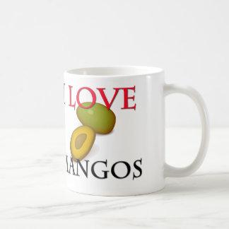 I Love Mangos Coffee Mug