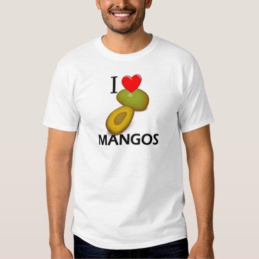I Love Mangos T Shirt