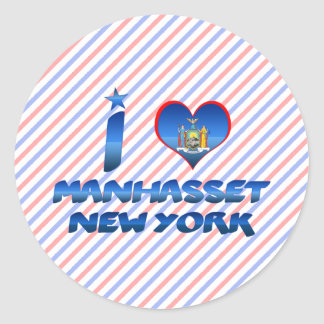 I love Manhasset, New York Stickers