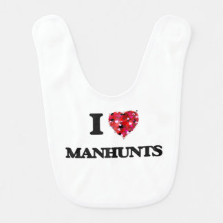 I Love Manhunts Baby Bibs