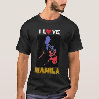I Love Manila Basic Dark Shirt