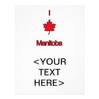 I Love Manitoba Flyer