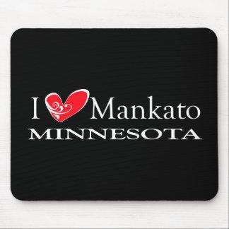 I Love Mankato Minnesota Mouse Pad